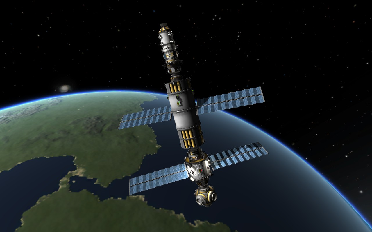 kerbal space station - HD 1280×800